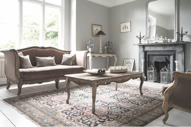 Antique handmade Persian 'Tabriz' part-silk wool rug, 2 x 3m, £8,800, The London Persian Rug Company