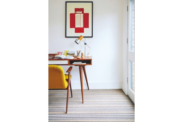 'Camden Wool' carpet in 'Sienna Stripe', £34.99 per sq m, Carpetright
