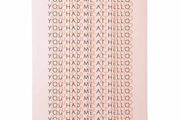 Bxxlght You Had Me At Hello poster
