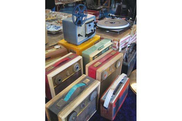A collection of Antique radios