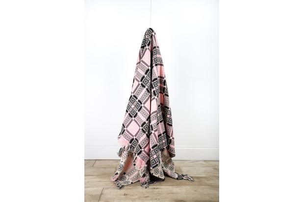 Vintage Welsh Blanket, Decorative Collective