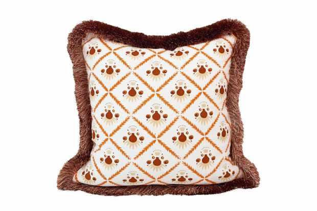 Ceraudo dusky pink cushion