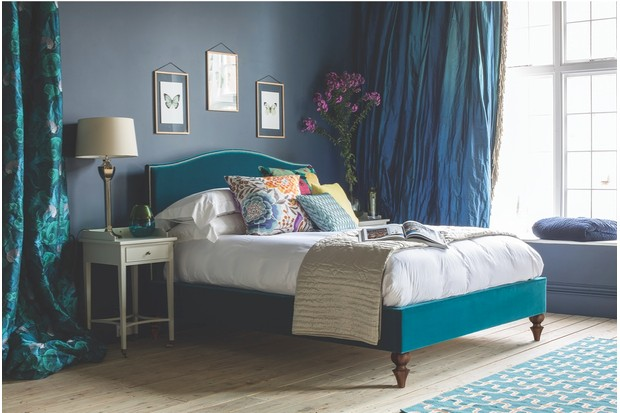 Richmond' bed, from £1,750 for a double excluding mattress, And So To Bed