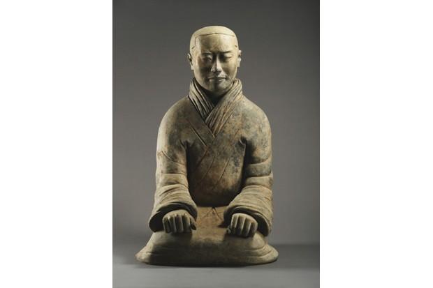 A terracotta warrior