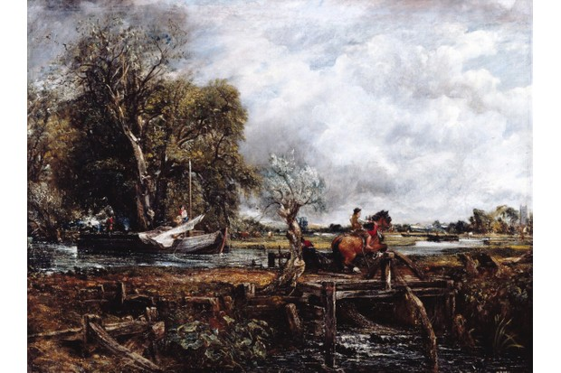 The Leaping Horse, 1825, by John Constable, on display at the Royal Academy.