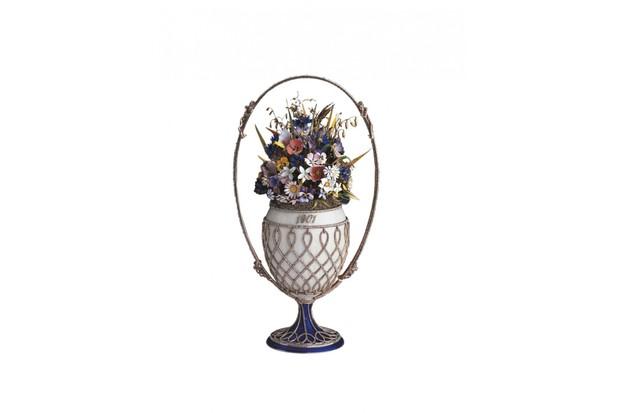 'Basket of flowers egg'