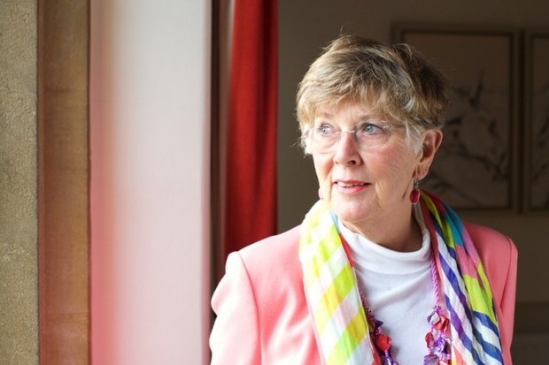Author, cookery writer and TV presenter Prue Leith