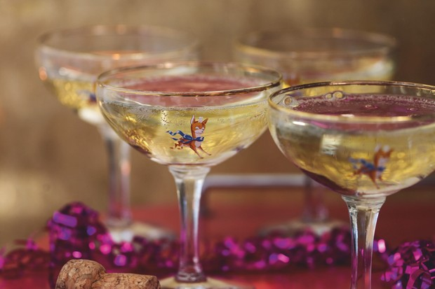 Glasses of Babycham