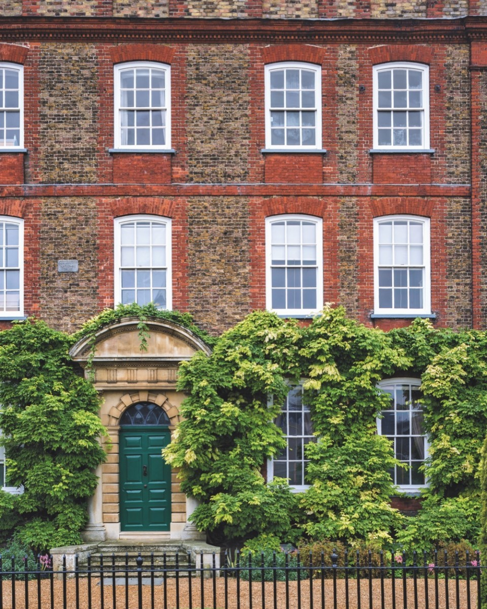 The exterior of Peckover House, Wisbech, Cambridgeshire