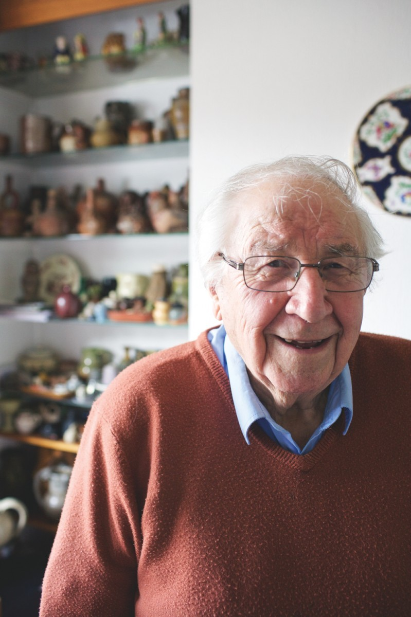 Ceramics expert Henry Sandon