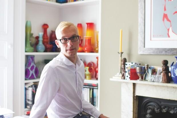Antiques Roadshow expert Mark Hill
