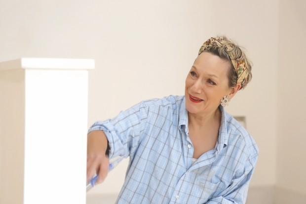 An image of French interior designer Catherine-Hélène Frei Von Auffenberg