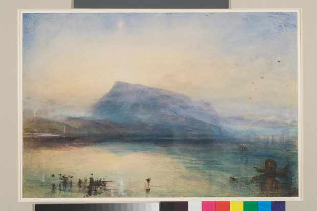 The Blue Rigi by JMW Turner