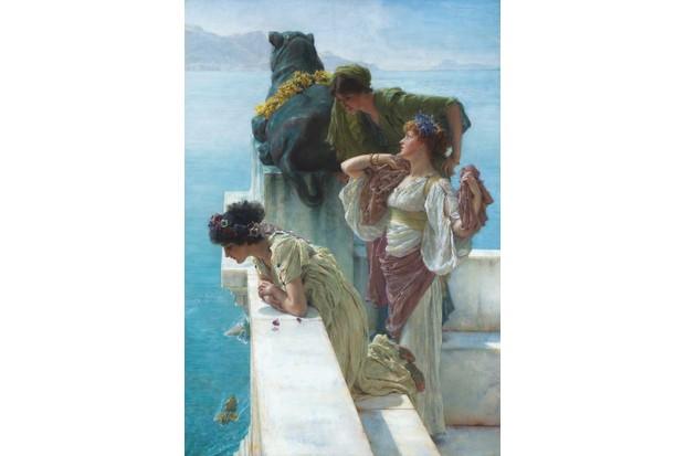 2 . Sir Lawrence Alma-Tadema, A Coign of Vantage 1895