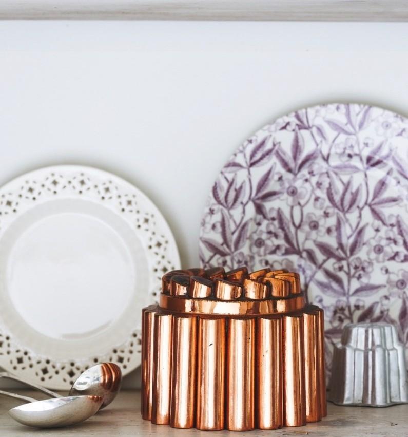 A copper mould