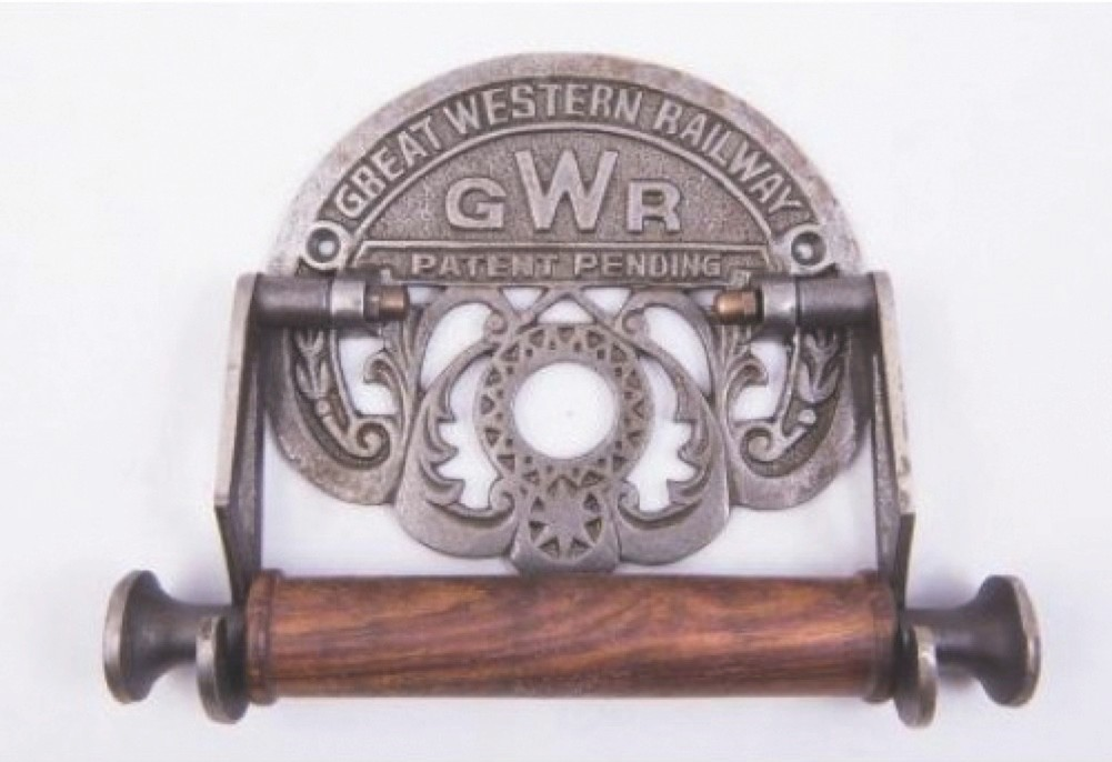 3 GWR toilet roll holder, £12.50, Cox's Architectural