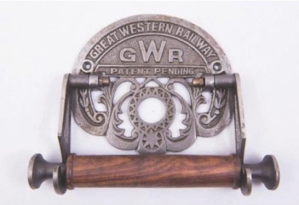 Great Western Railway toilet roll holder