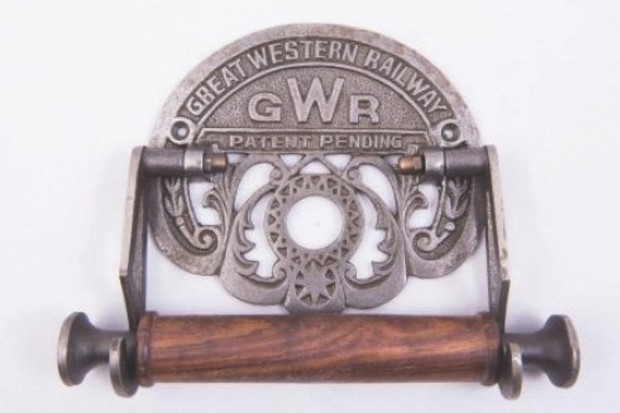 Great Western Railway toilet roll holder