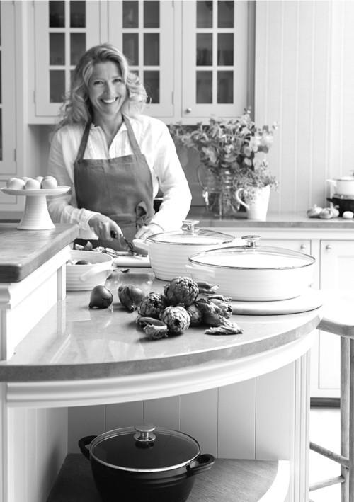 Interior designer, author and cook Sophie Conran