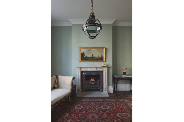 A strong centrepiece light, such as Jamb's 'Original Globe' lantern, £3,120, can finish off a scheme in period home perfectly