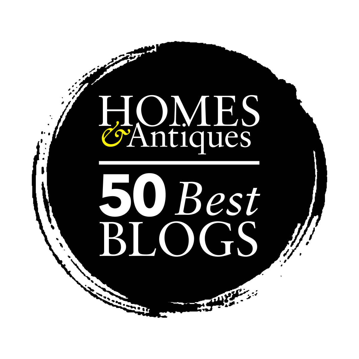 Homes & Antiques 50 Best Blogs Graphic