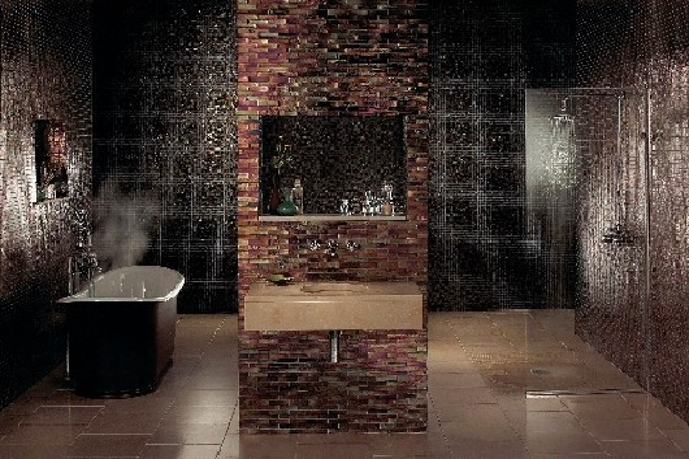 A mosaic washstand