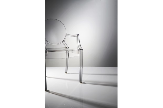 Philippe Starck's 2002 Louis Ghost Armchair