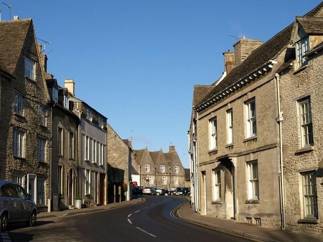 An image of Derek Harper Silver Street in Tetbury, Gloucestershire