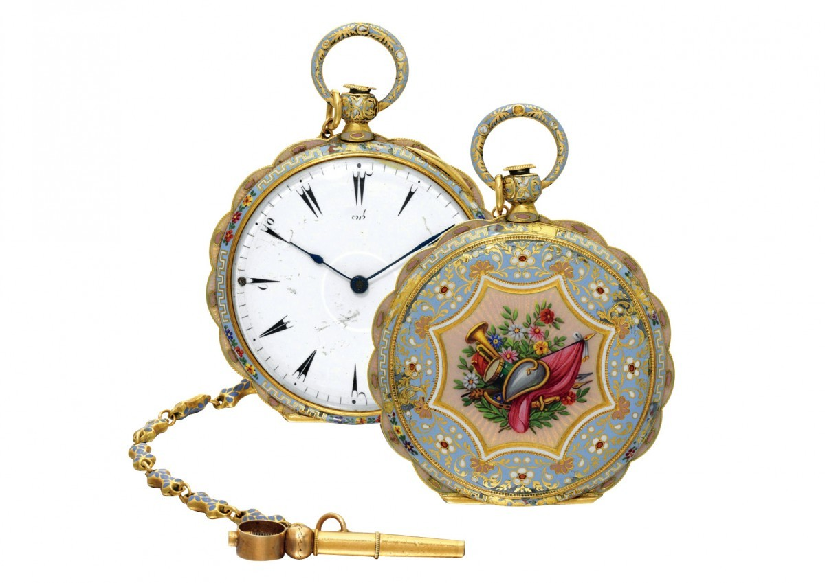 An antique pocket watch