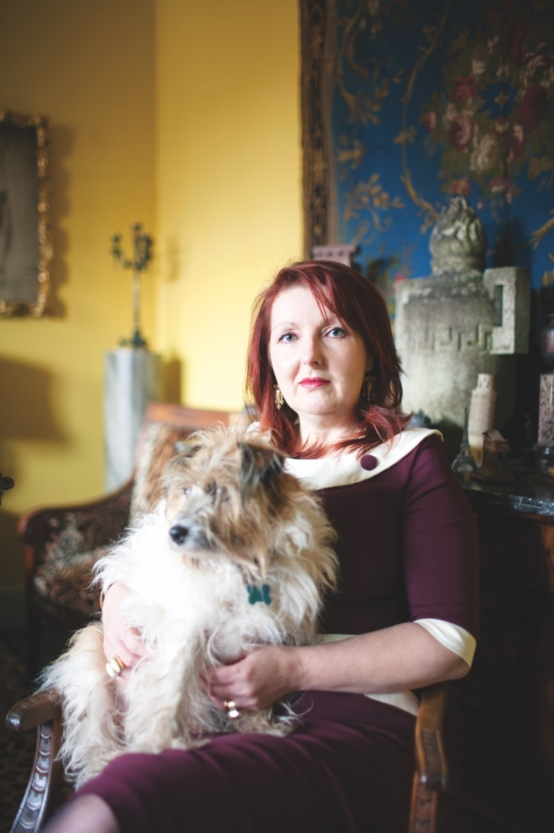 A picture of antiques expert Lisa Lloyd