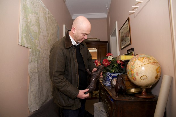 Antiques and restoration expert Drew Pritchard