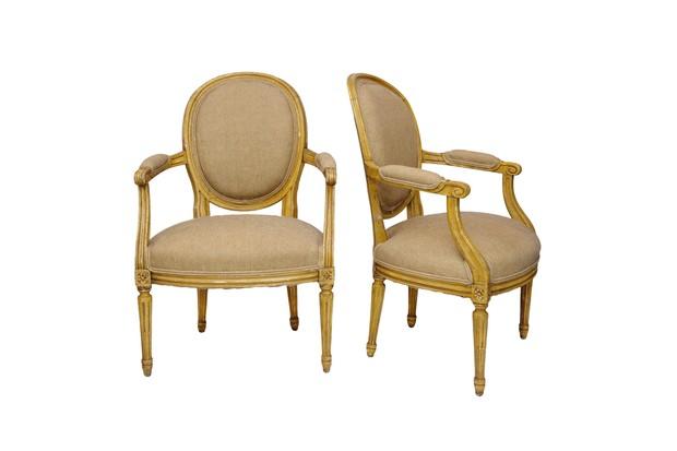 Antique Louis XVI chairs