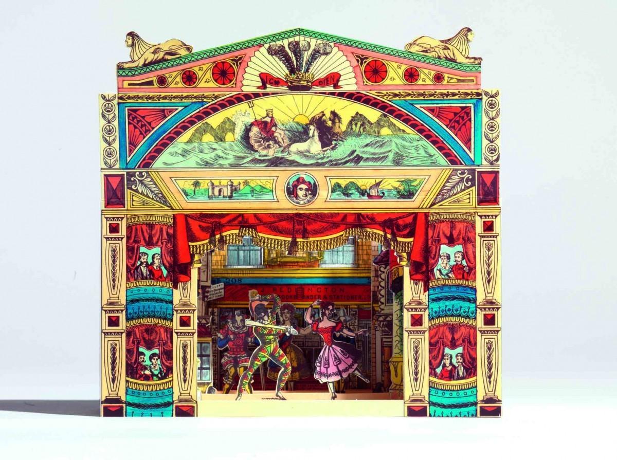 A Pollock's toy theatre