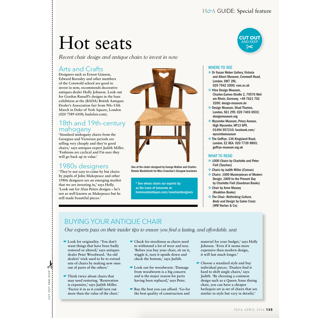 How to collect antique chairs