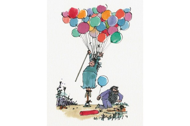 An illustration taken from 'The Twits'