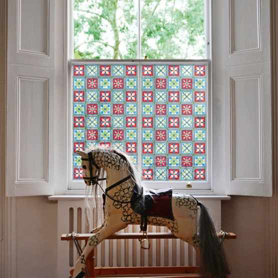 Victorian Stained Glass Film