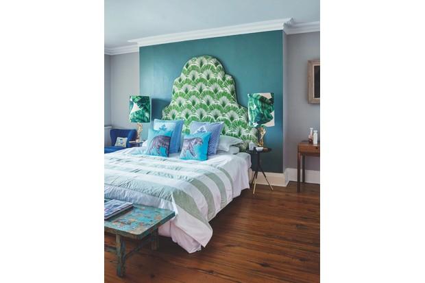 Lizzie Gordon's bedroom