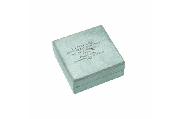 A Tiffany and Co box