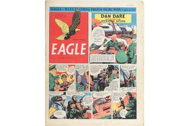 An Eagle comic strip