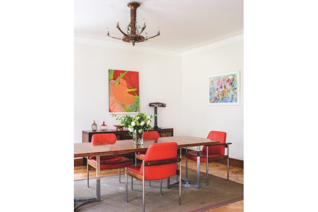 The dining room for 'Village of Tomorrow'