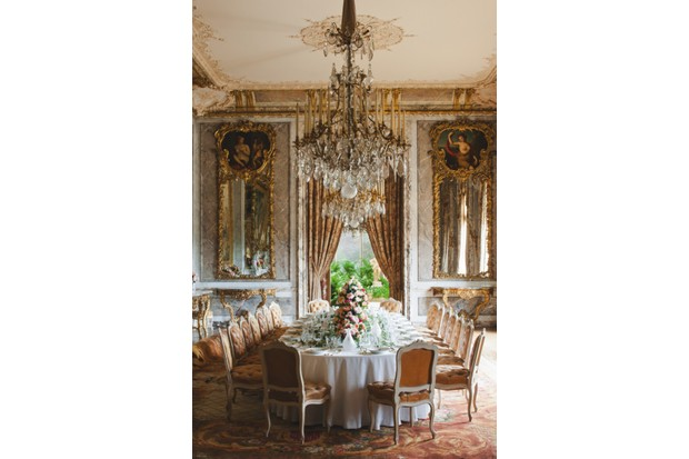 The Dining room of Waddesdon Manor