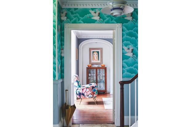 Lizzie Gordon's entrance hall