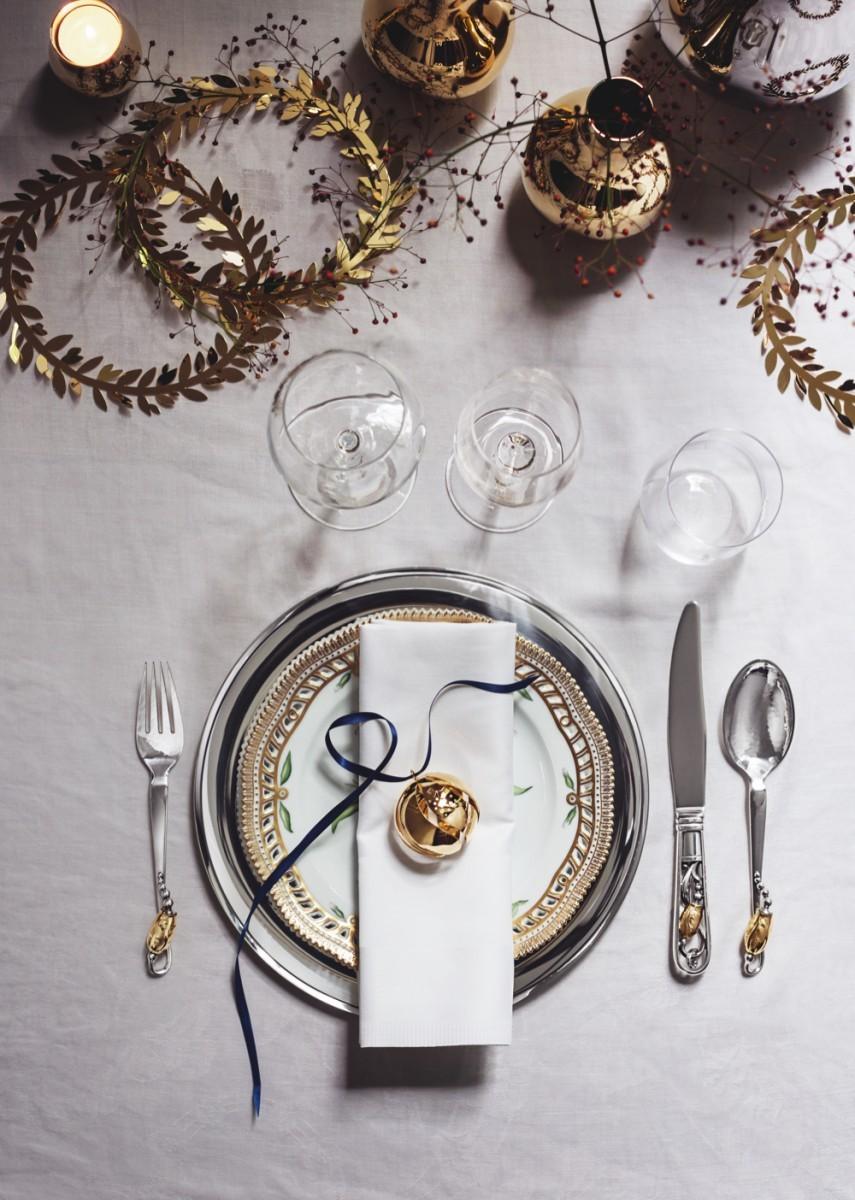A Georg Jensen dining set