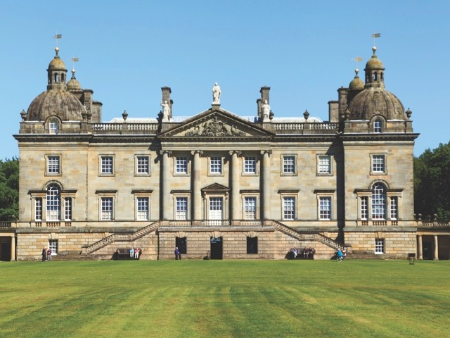 The exterior of Houghton Hall