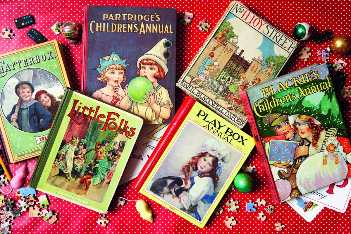 A collection of children's annuals