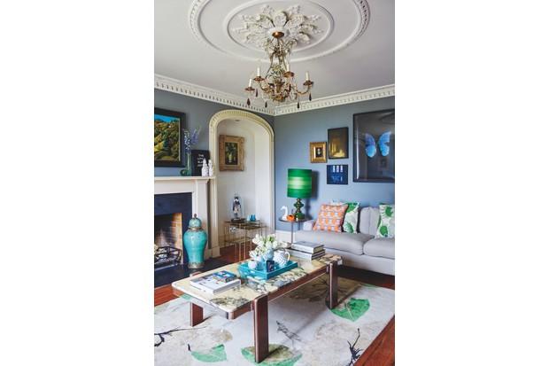 Lizzie Gordon's living room