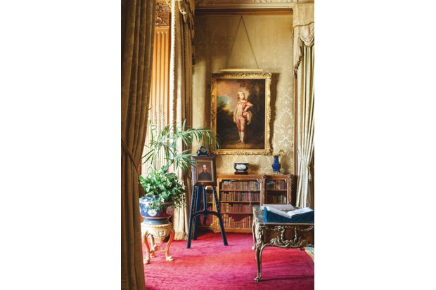 The morning room of Waddesdon Manor