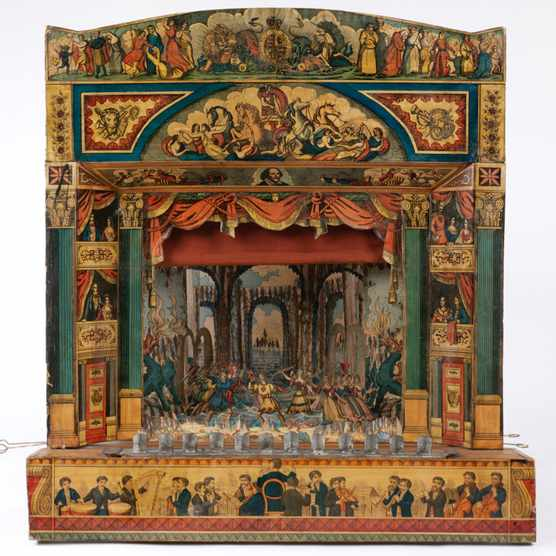 A toy theatre