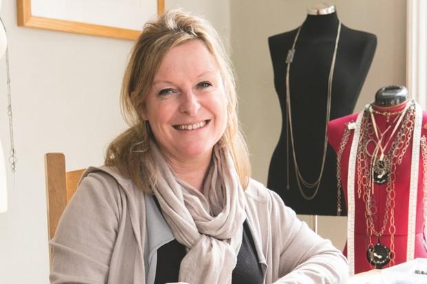 Manchester-based jewellery designer-maker Jane Dzisiewski