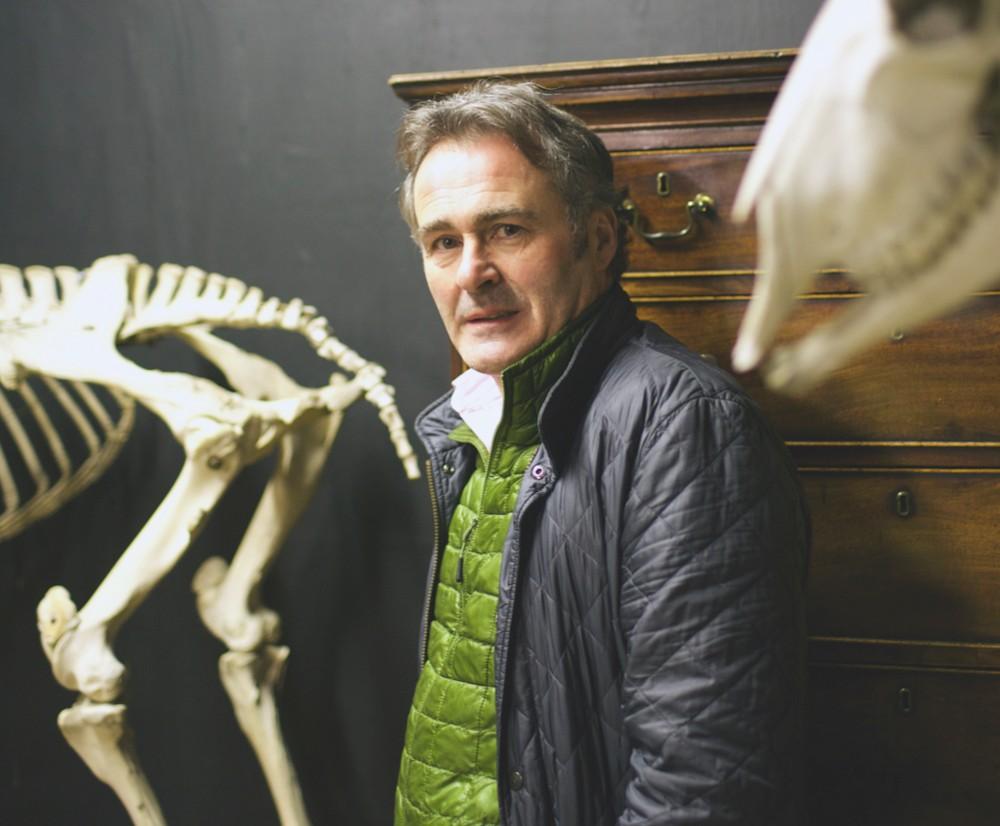 Antiques expert and TV presenter Paul Martin